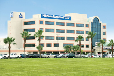 Mission Regional Hospital today