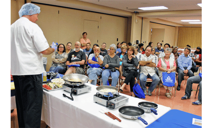 health fair cooking demonstration